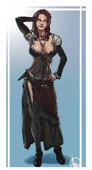 Assassins Creed Anne Bonny By Elcarlo42 On Deviantart