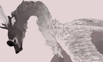 swan dive by JaspersAutumn