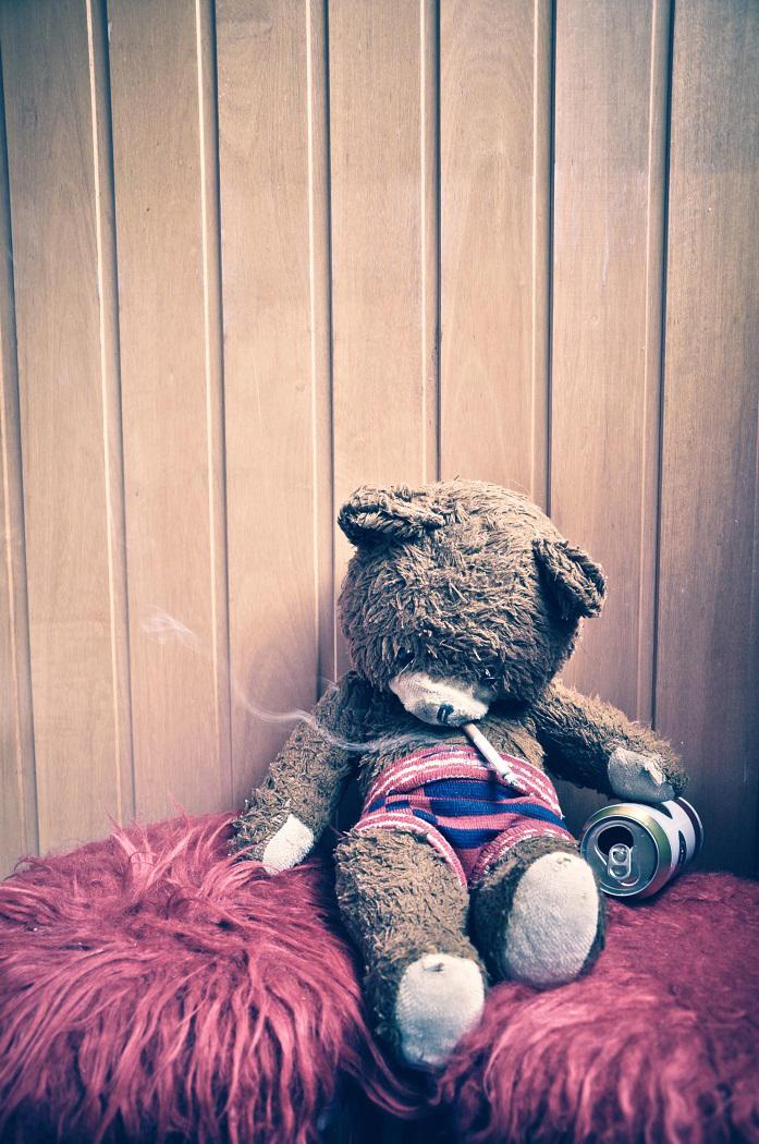 My Teddy. by Looserik