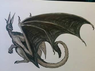 greyscale Ryuk by of-Salfarro