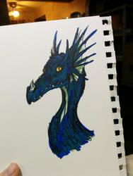 Dragon by of-Salfarro