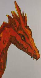 red dragon by of-Salfarro