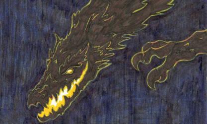 Falling Beast by of-Salfarro