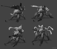 Mech thumbnails by Shin500