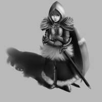 Lady Knight by GreatAxe
