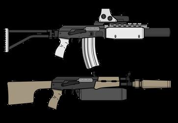 SpecOps Kalashnikov Customs by lemmonade