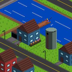 Isometric Housing by GoatMutation