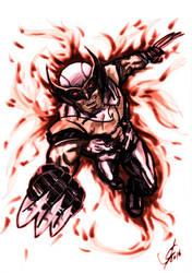 Dark Phoenix Wolverine 2.0. - The New X-Men by Faith84g