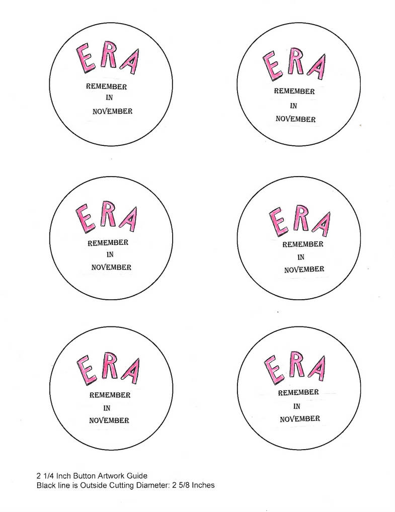 ERA Remember in Novovember, button template by SpotEtal