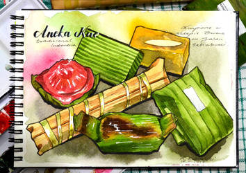 VIDEO - Traditional Indonesian Snacks by Shelter85