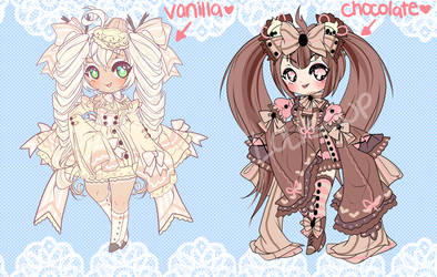 SWEET ADOPTABLE AUCTION CLOSED by minnoux