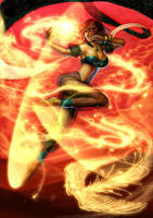 Ophilia The Flame Dancer by rusharil