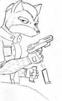 Fox MCcloud by Lavawolf