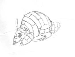 fat sandshrew by Lavawolf