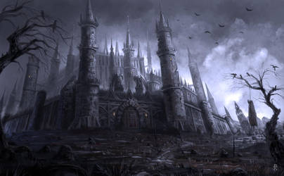 Dark Castle by Emkun