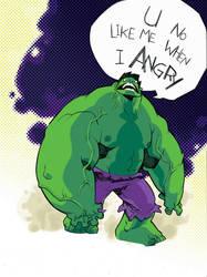 hulk angry by K-Scott-Hepburn