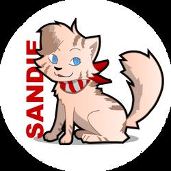 Sandie by kid-blue