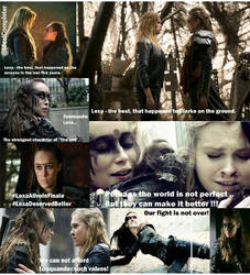 Let Lexa Live!!! by IdealCompleter