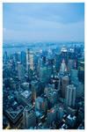 On Top of New York by zuckerblau