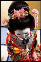 geisha by enjoyamau