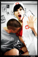 scary nurse with naughty Xboy by enjoyamau