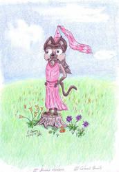 Princess Kaitlyn - oil pencils by Iron-Ed