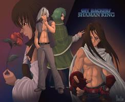 Get Backers v. Shaman King CMS by Fugaz-Star