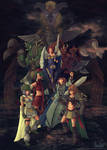 The God Wars Generals by Fugaz-Star