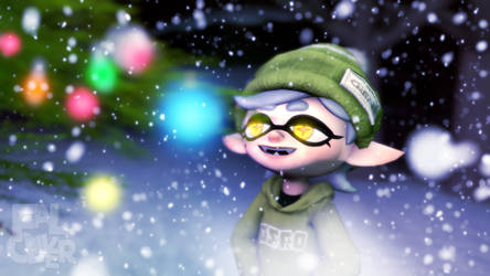 Marie's christmas tree by Faloliver