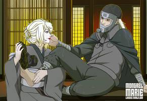 CM: Shiori and Hanzo by mongrelmarie
