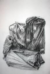 stools and trashbags by circle00