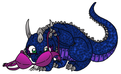 Flaffy-Nir found his size (PC colo Gimp) by AiWiArt