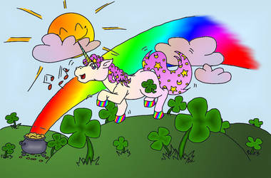 Over the Rainbow (PC Colo gimp) by AiWiArt