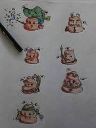 More Random Shit (colo) by AiWiArt