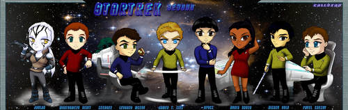 Star Trek Beyond.:.Chibis by Callyzah