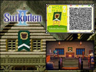 ACHHD QR Code: Suikoden II - Mercenary Fort Flag by ChiisaYanagi