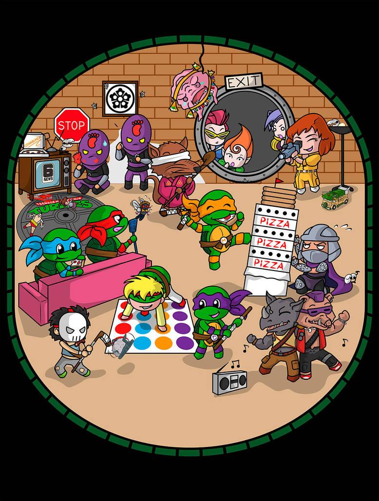 Teenage Mutant Ninja Turtles by ChiisaYanagi