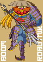 Shogun Boom Robotnik by MobianMonster