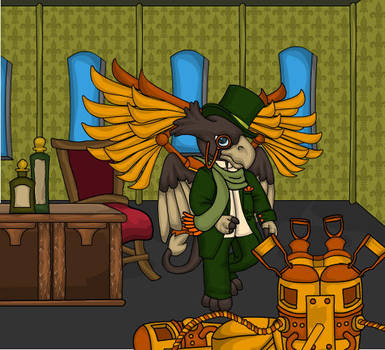 Steampunk III by heatherleeharvey