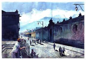 calle antigua by icarosteel