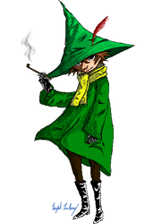 oh my dear snufkin by crystal-meths