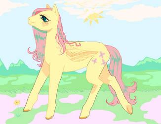 spring horse by godlyDescentUFO