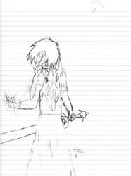 Nathan: Awakened Demon Form by Krohman