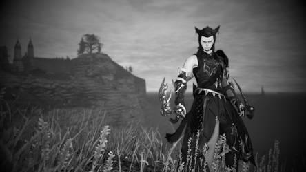 Final Fantasy XIV Monk by Krohman