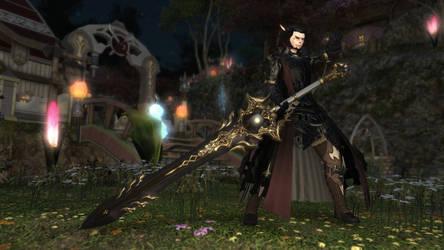 Final Fantasy XIV Dark Knight by Krohman