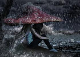 Raining by artofexpo