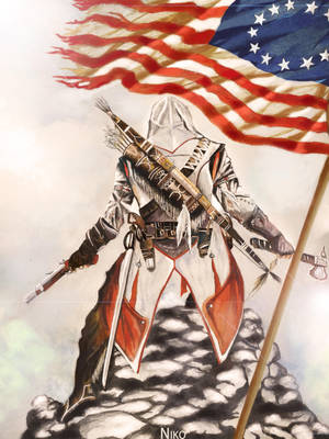 Connor Kenway by nicko025