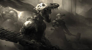 Bonewarriors by GoranCrazyBrush
