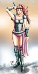 Blossom Gladiator ver by Kazuo-O85