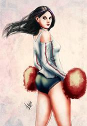 Cheerleader by Kazuo-O85